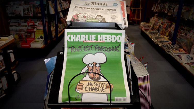 (Avec cinq millions de numéros tirés, Charlie Hebdo peut empocher jusqu'à huit millions d'euros © MAXPPP)