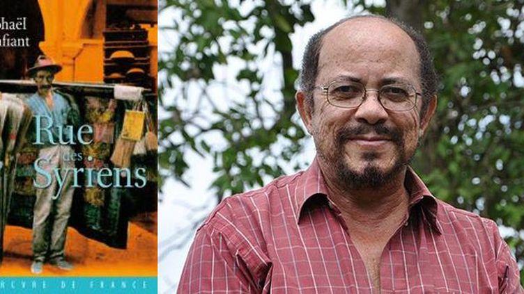 """Raphaël Confiant, auteur de """"Rue des Syriens""""  (DR)"""