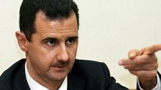 Le président syrien, Bachar al-Assad, le 19 décembre 2006 à Moscou. (AFP - Yuri Kadobnov)