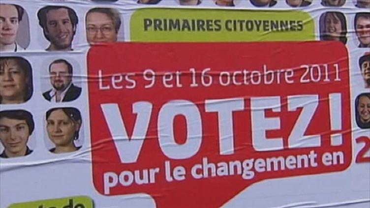 """Un militant """"tracte"""" dans les rues de Montreuil (FTV)"""