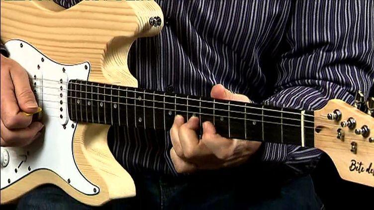 Une guitare 100% Vosges (J. Petitcolas / France 3 Lorraine)