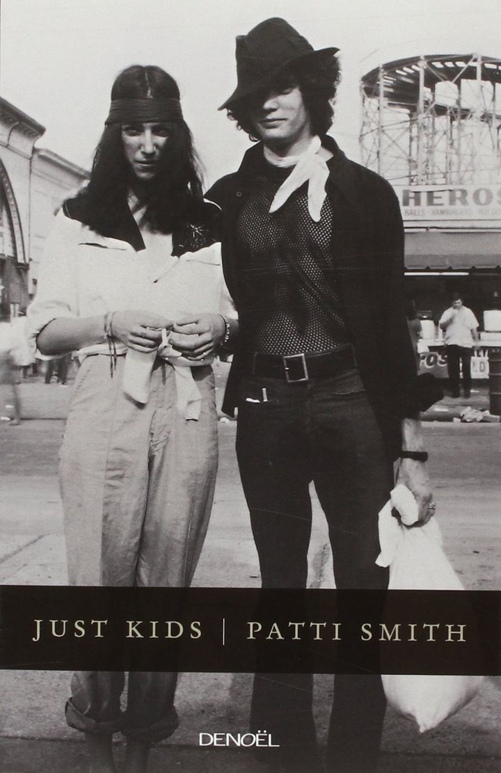 """La couverture du livre Patti Smith, """"Just Kids""""  (Denoël)"""