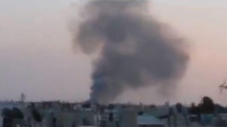 A Homs (Syrie), le 22 novembre 2011. (APTN)