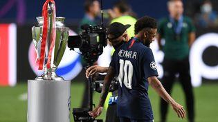 Neymar et le PSG ont perdu leur première finale de C1 le 23 août dernier, face au Bayern Munich (0-1) (DAVID RAMOS / POOL/AFP)