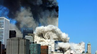 Les attentats du 11-Septembre à New York. (HENNY RAY ABRAMS / AFP)