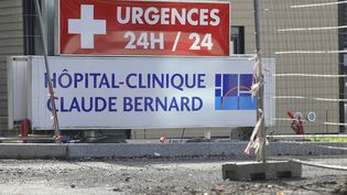 La cliniqueClaude-Bernard de Metz (Moselle), où a été pris en chargeCorentin, 11 ans, mort des suites de son opération de l'appendicite, le 2 novembre 2014. (JEAN-CHRISTOPHE VERHAEGEN / AFP)