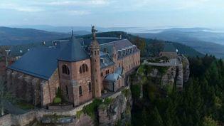 Le mont Sainte-Odile, dans le Bas-Rhin. (CAPTURE ECRAN FRANCE 2)