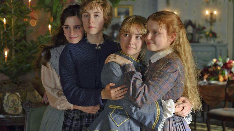 "Emma Watson,Saoirse Ronan, Florence Pugh et Eliza Scanlen dans ""Les Filles du docteur March"" deGreta Gerwig. (WILSON WEBB /  Sony Pictures Releasing France)"