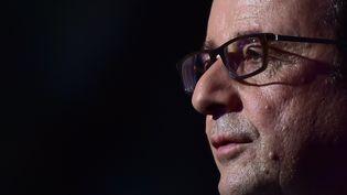 François Hollande, le 28 mars 2017. (CHRISTOPHE ARCHAMBAULT / AFP)