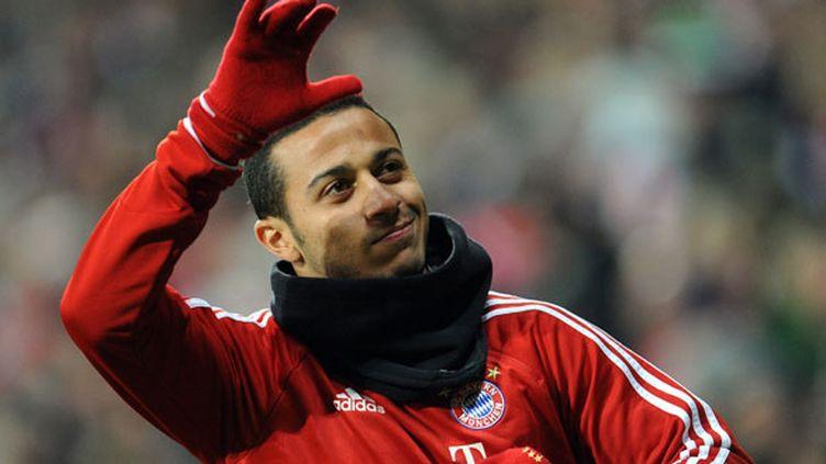 Le joueur du Bayern Munich, Thiago Alcantara