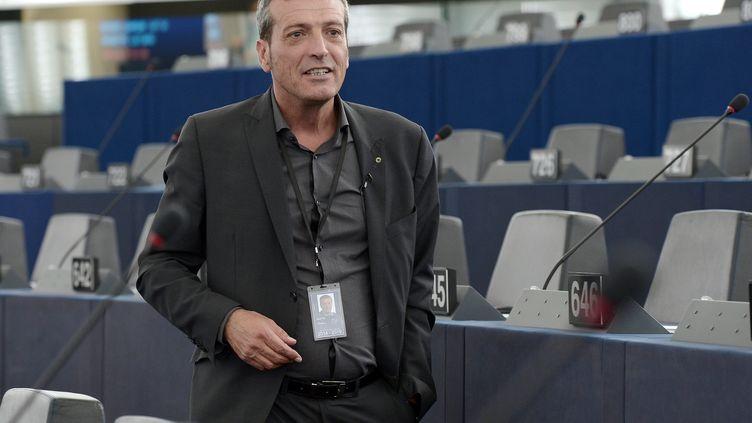 Édouard Martin au Parlement européen le 30 juin 2014. (FREDERICK FLORIN / AFP)