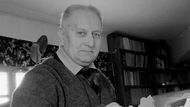 L'écrivain Jean Giono en 1962. (Leemage)