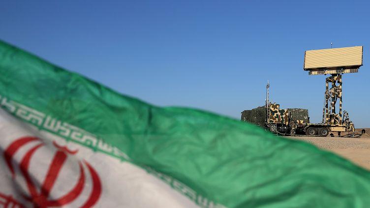 Le drapeau Iranien (illustration) (- / IRANIAN ARMY OFFICE)