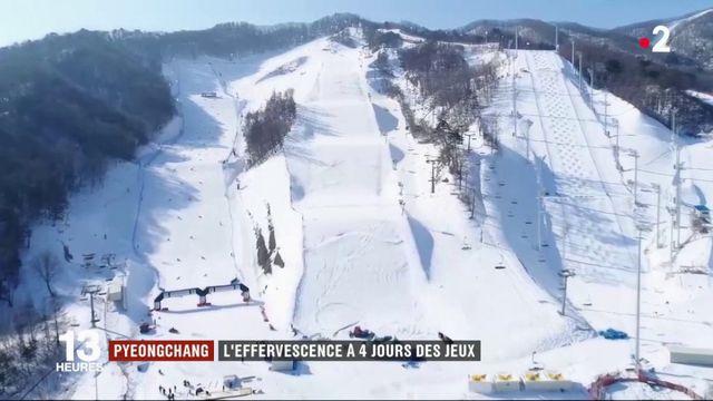 Pyeongchang : l'effervescence à 4 jours des jeux