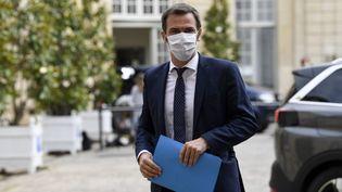 Le ministre de la Santé Olivier Veran à l'hôtel Matignon à Paris, le 17 juillet 2020. (BERTRAND GUAY / AFP)