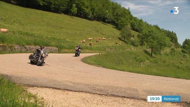 Drôme : quand les motards troublent le calme du Vercors