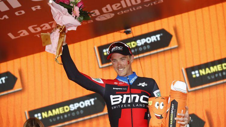 Rohan Dennis remporte la 16e étape (LUK BENIES / AFP)