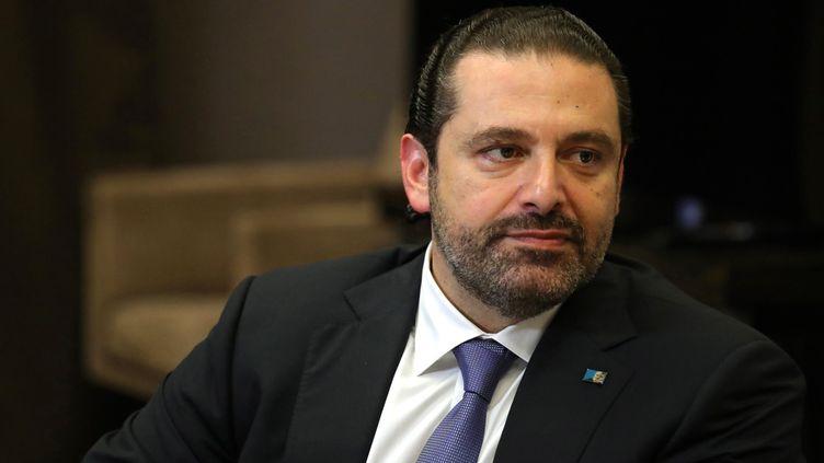 Le Premier ministre libanais, Saad Hariri, à Sochi (Russie), le 13 septembre 2017. (KREMLIN PRESS CENTRE / ANADOLU AGENCY / AFP)