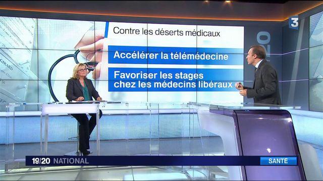 Déserts médicaux : accélérer la télémédecine et les stages en cabinets