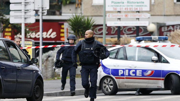 (Un suspect a été identifié dans l'enquête sur la fusillade de Montrouge © MaxPPP)