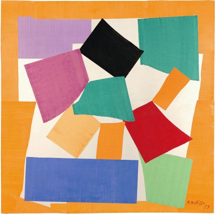 """Henri Matisse, """"Escargot"""", 1953, Tate  (Succession Henri Matisse/DACS 2013)"""