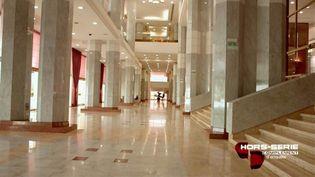 Le palais d'Ali Bongo à Libreville, Gabon. (FRANCE 2 / FRANCETV INFO)