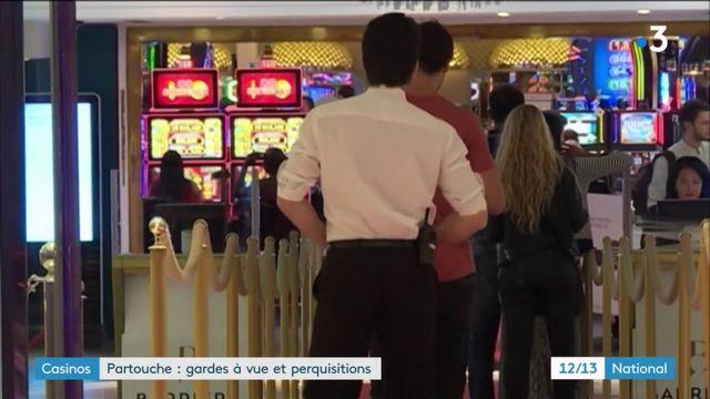 Fraude : trois casinos Partouche ciblés par une enquête