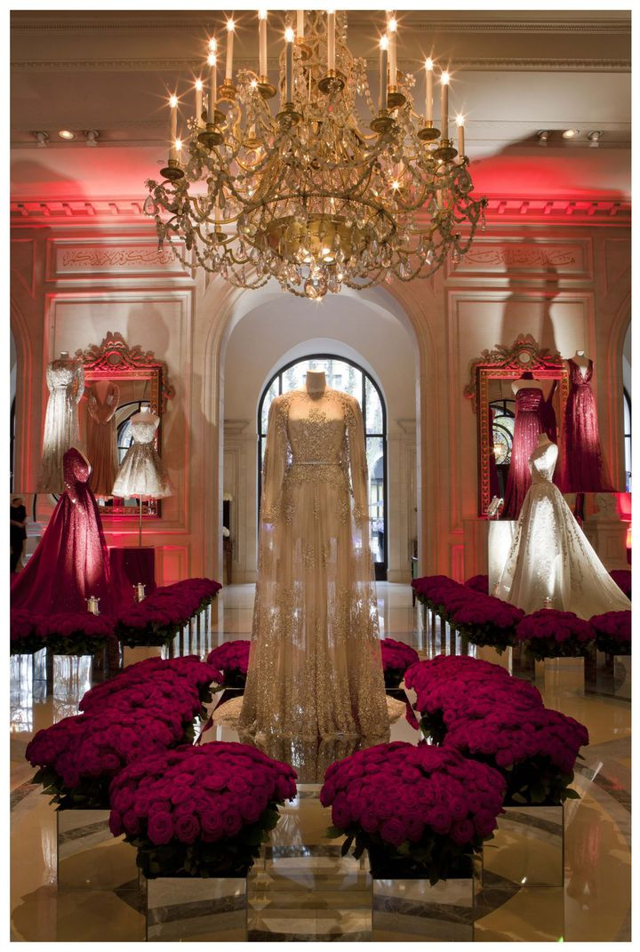 Exposition Elie Saab au Four Seasons Hôtel George V à Paris...  (DR)