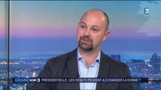 Thomas Gunéolé, politologue. (FRANCE 3)