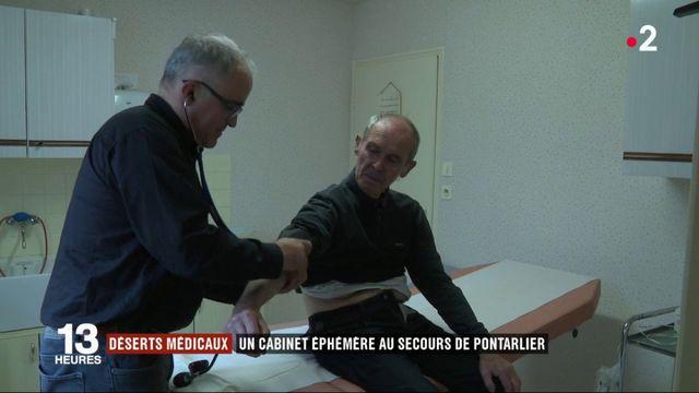 Déserts médicaux : un cabinet éphémère au secours de Pontarlier