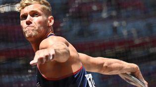 """""""Pourquoi j'ai fait du décathlon plutôt que du freesbee ? J'étais hyper fort à la plage..."""" (ANDREJ ISAKOVIC / AFP)"""