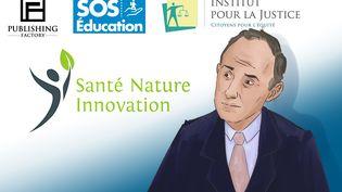 SOS Éducation, Santé nature innovation... Enquête sur la galaxie de Vincent Laarman. (NICOLAS DEWIT / RADIO FRANCE)