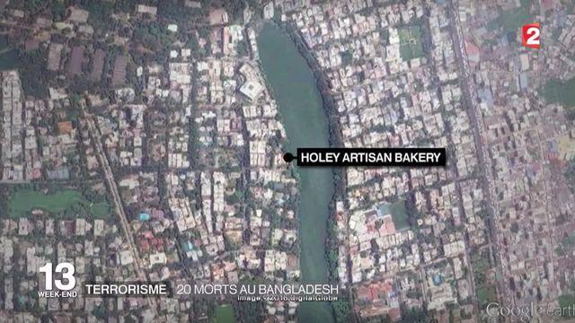 Terrorisme : 20 morts dans une attaque au Bangladesh