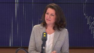 Agnès Buzyn, ministre des Solidarités et de la santé, le 9 février 2018. (RADIO FRANCE / FRANCEINFO)