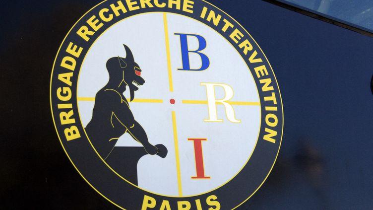 Un écusson de la BRI de Paris. (CATHERINE GRAIN / COMMUNICATION)