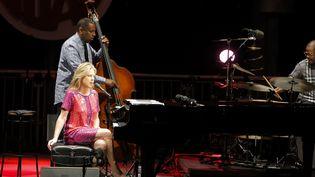 Diana Krall à Jazz à Juan, le 21 juillet 2016  (DR)