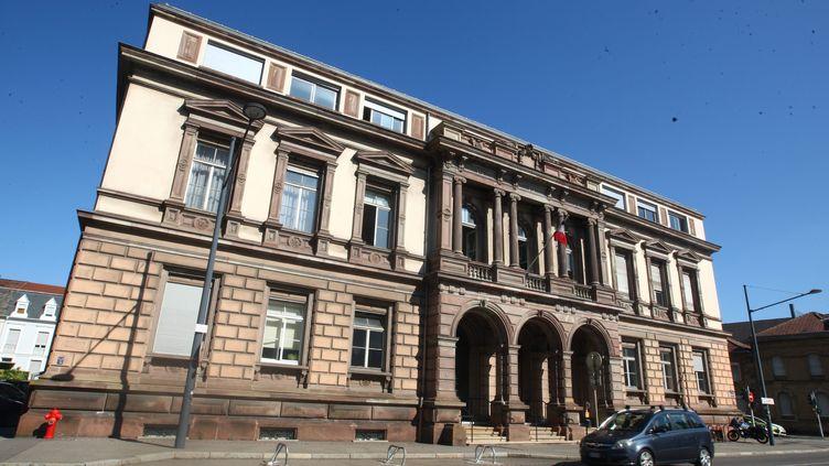 Le tribunal de grande instance de Mulhouse (Haut-Rhin), en août 2019. (VINCENT VOEGTLIN / MAXPPP)