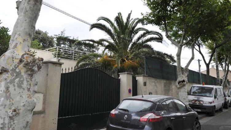 C'est dans cette maison de Marseille que Hilton, le défenseur marseillais, avait été agressé avec sa famille en 2011