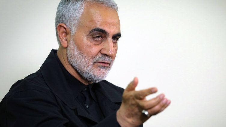 Le général Qassem Soleimani, sur une photo officielle du régime iranien, à Téhéran (Iran),le 1er octobre 2019. (KHAMENEI.IR / AFP)