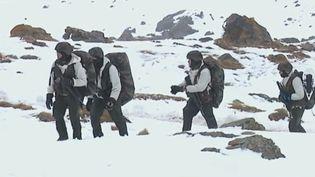Une équipe de France 3 s'est rendue dans les vallons de Savoie pour suivre des brigades qui se forment au combat en milieu escarpé. (France 3)