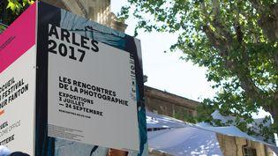 Les Rencontres d'Arles début juillet 2017.  (BERTRAND LANGLOIS / AFP)