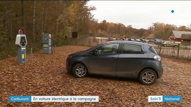 Carburant : les voitures électriques sont aussi à la campagne