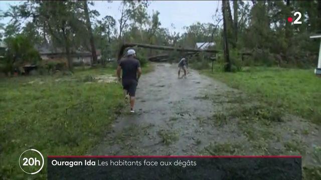 États-Unis : après le passage de l'ouragan Ida, la Louisiane face aux dégâts