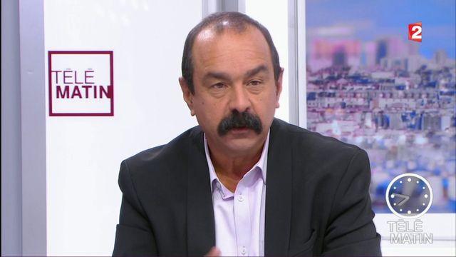 """Philippe Martinez : """"cette loi est pire"""" que la loi El Khomri"""