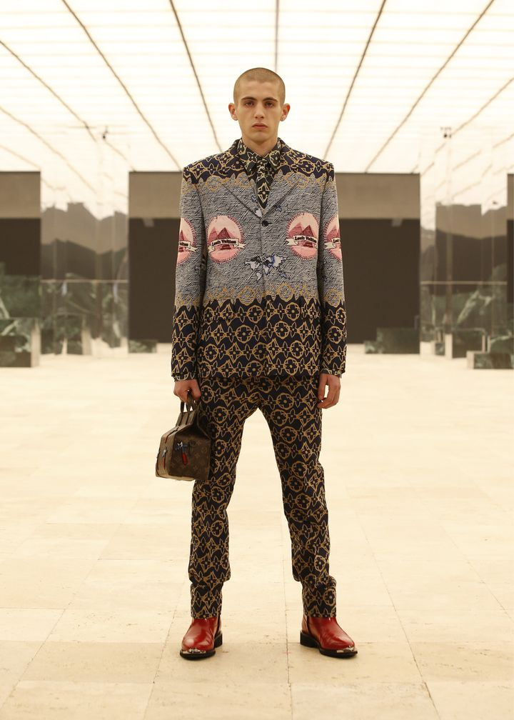 Collection masculine Louis Vuitton automne-hiver 2121-22, à la Paris Fashion Week, janvier 2021 (Louis Vuitton / Ludwig Bonnet)