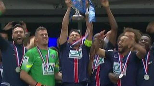 Coupe de France : le PSG remporte un quatrième titre !