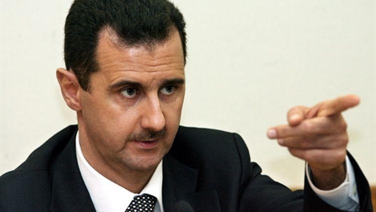Le président syrien Bachar al-Assad (AFP PHOTO/YURI KADOBNOV)