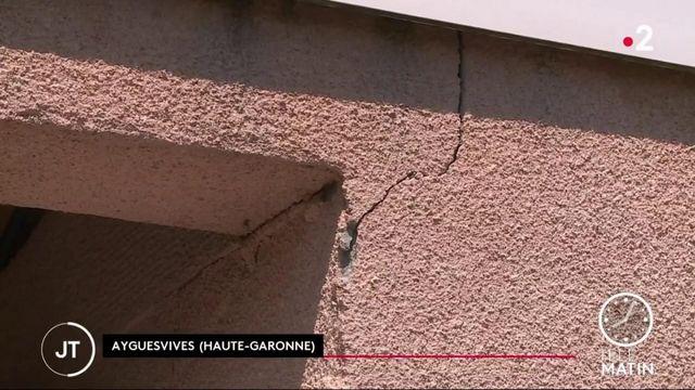 Canicule: des maisons fissurées par la chaleur