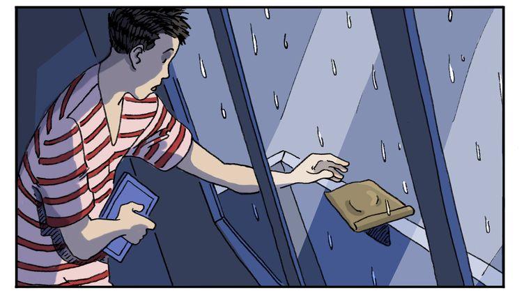 """Chapitre 6, """"Pas folle !"""", illustration de Luc Desportes (LUC DESPORTES)"""