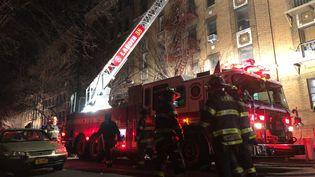 Au moins douze personnes sont mortes jeudi 28 décembre dans un incendie àNew York. (VURAL ELIBOL / ANADOLU AGENCY)